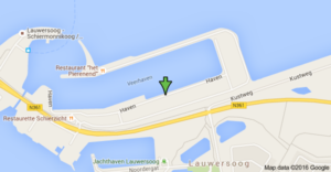 map Haven 28A Lauwersoog